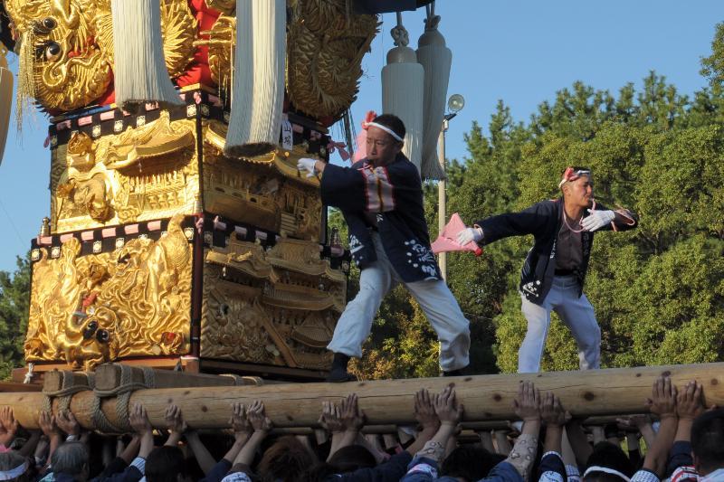 平成23年 新居浜太鼓祭り 八旗神社 山端太鼓台