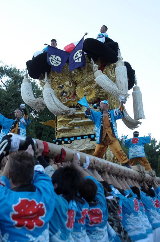 新居浜太鼓祭り 川東西部地区 八旗神社 町太鼓台