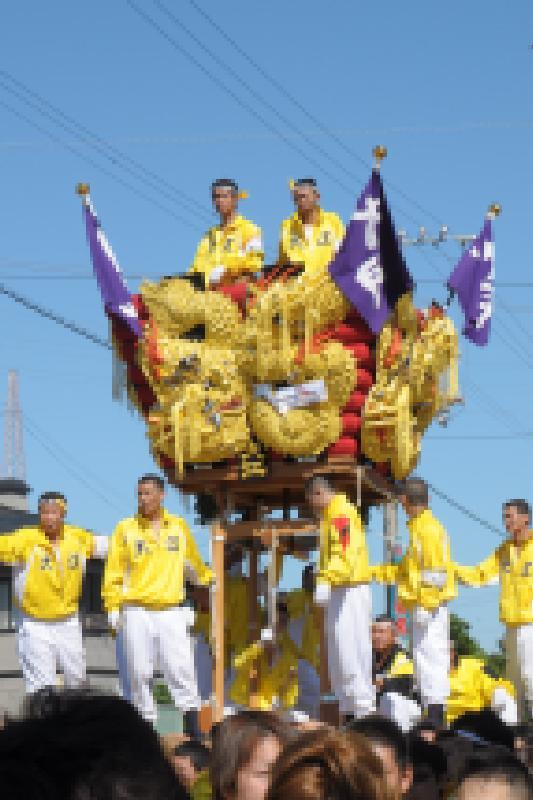 新居浜太鼓祭り 川西地区 大江太鼓台