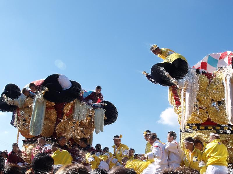 新居浜太鼓祭り 大江浜 中須賀太鼓台