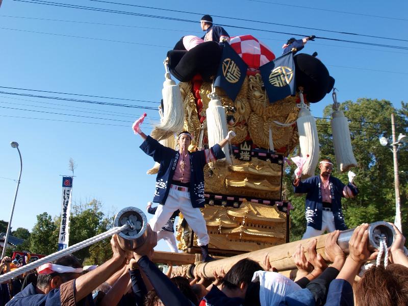 新居浜太鼓祭り 川東西部地区 山端太鼓台 八旛神社
