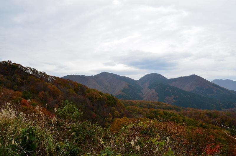 岡山県真庭市蒜山下徳山 鬼女台  景色