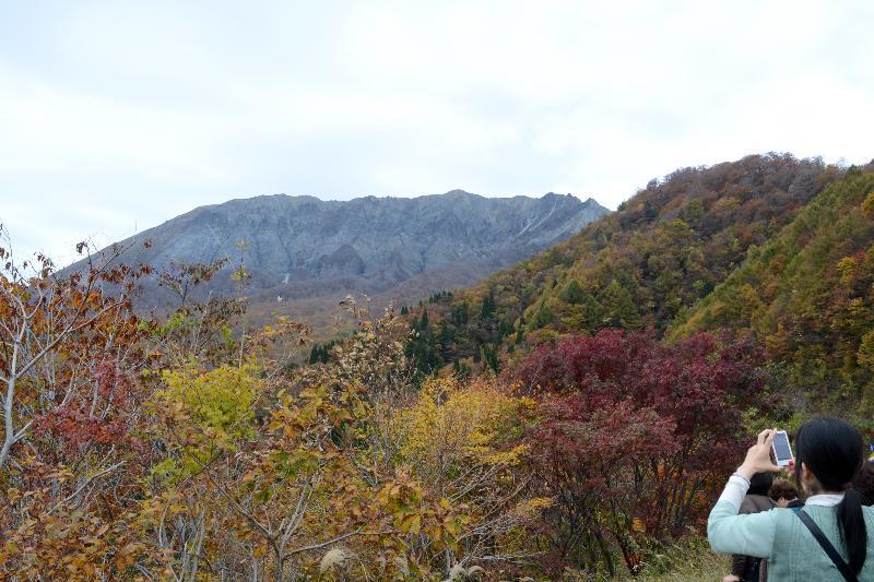 鳥取県日野郡江府町  鍵掛峠  大山を望む景勝峠