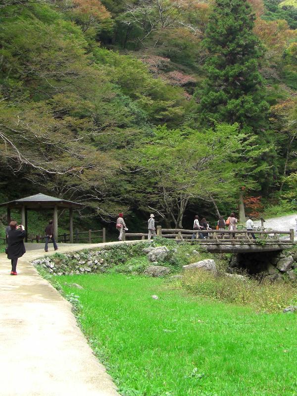 岡山県真庭市神庭 神庭の滝  かんばのたき