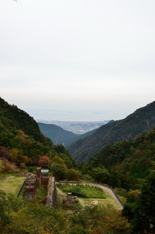 新居浜市立川町 東平 貯鉱庫跡