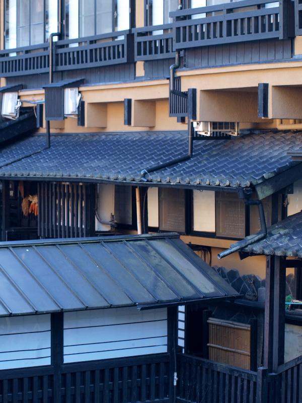 熊本県南小国町  黒川温泉  町並み 風景