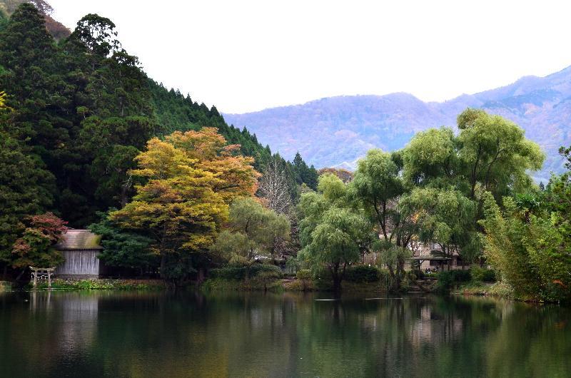 大分県由布市湯布院町 金鱗湖周辺 景色