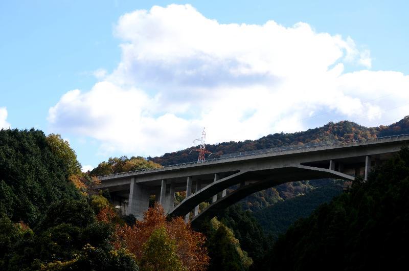 西条市丹原町 山の風景