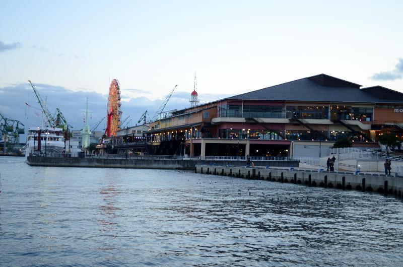 神戸市 神戸港 港の光景