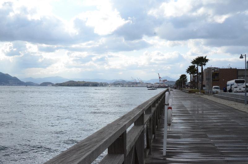 山口県下関市唐戸町 カモンワーフ 風景