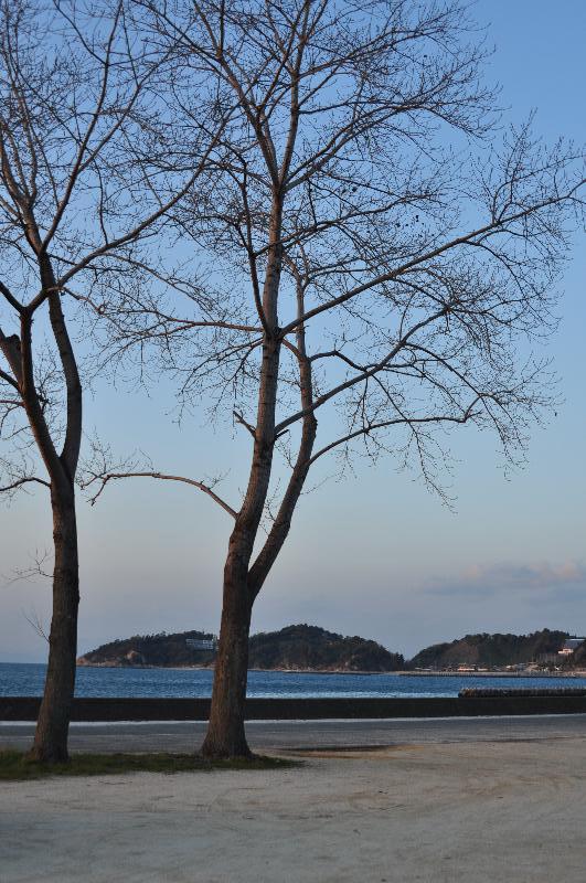 松山市下難波 海の見える景色