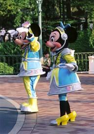 ミッキー&ミニー スペースレンジャー