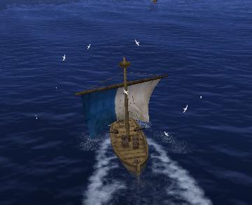 航海はきわめて順調ですよ。