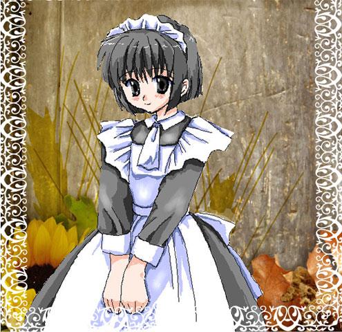 13歳少女メイド!(*´д`*)ハァハァ
