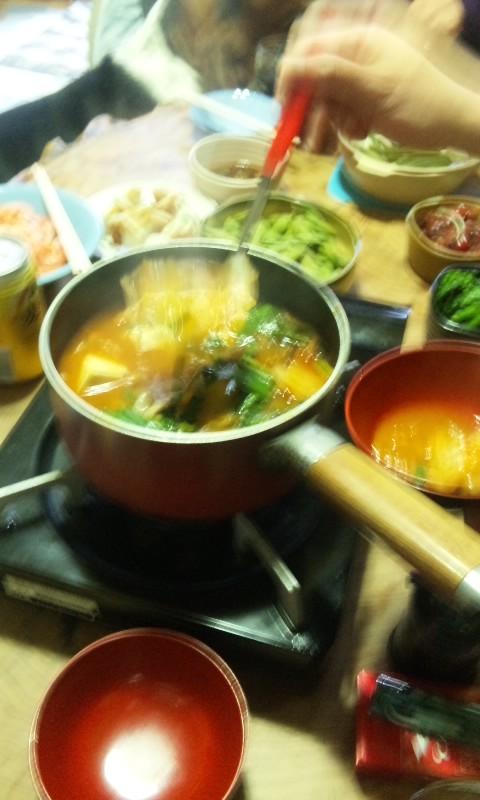 100408_キムチ鍋