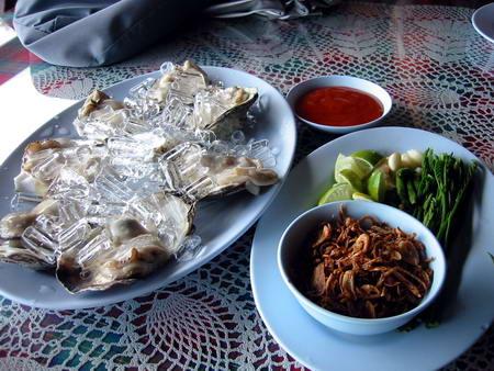 サムイ島の生牡蠣