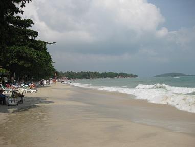 タイ・サムイ島・天気・チャウエンビーチ