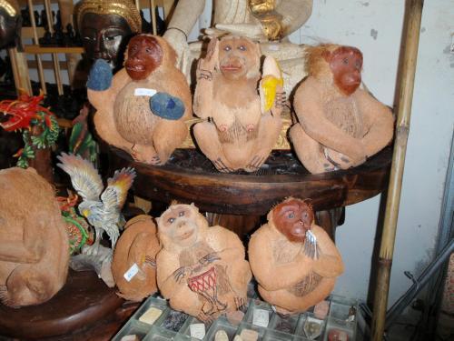 ココナッツの猿