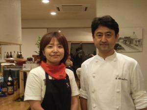 さなっち&赤松シェフ