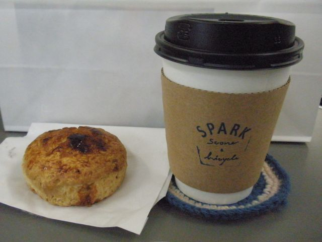 SPARK Scone & Bicycle