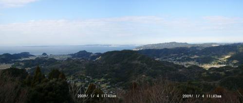 08 北峰から東京湾