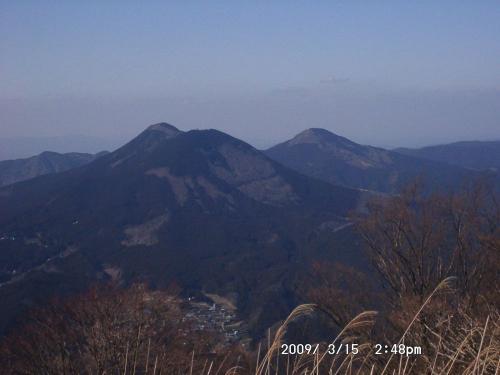 17 大洞山と尼ヶ岳