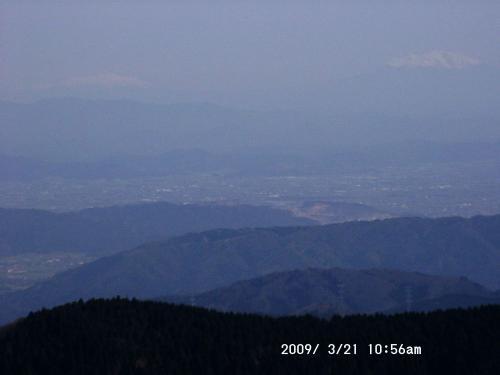 09 霊仙山から乗鞍と御嶽山
