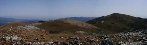 13 霊山三角点から最高地点