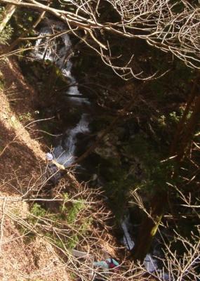 22 無名の滝