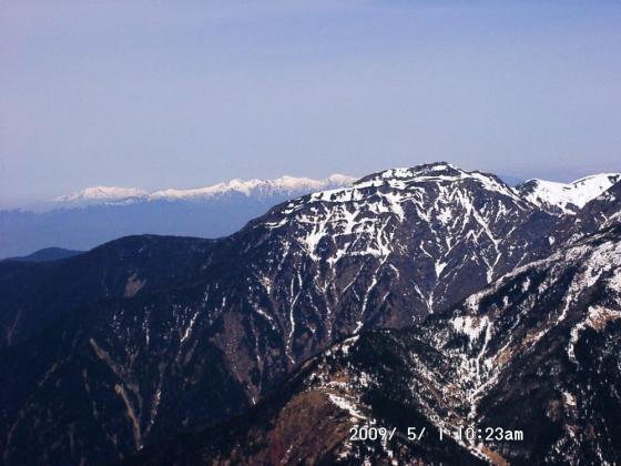 37 兎岳・中央アルプス・御嶽山