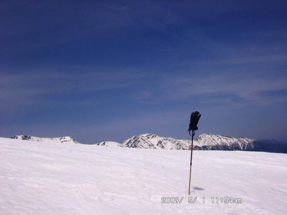 47 三千m峰を並べて記念写真
