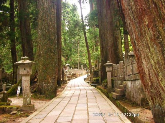 18 奥の院の墓所