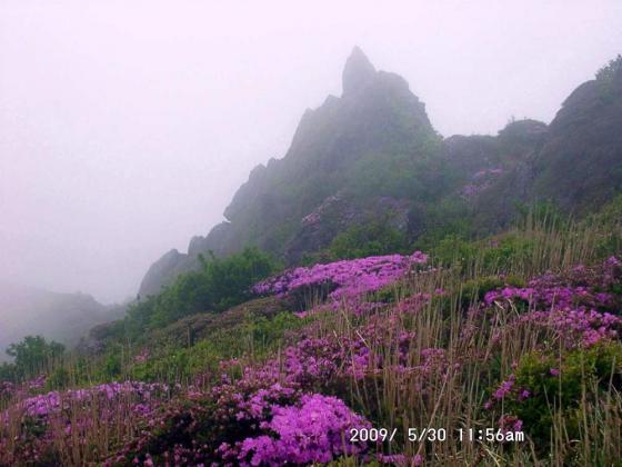 10 東峰にて岩の塔