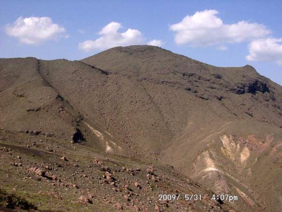 15 中岳途中から高岳