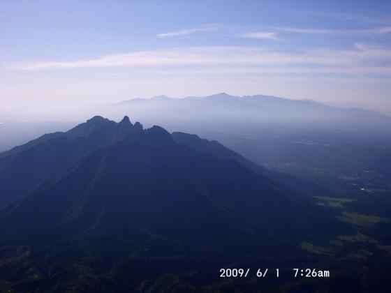 05 根子岳と祖母山