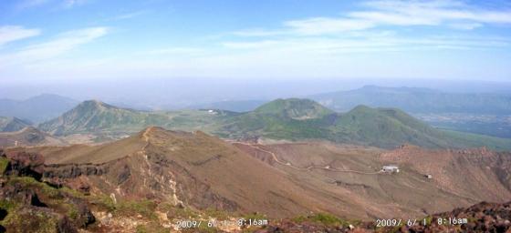 11 高岳から仙酔尾根・烏帽子・杵島岳