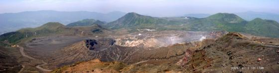 12 中岳から火口
