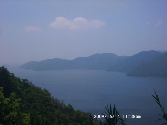 15 琵琶湖と竹生島