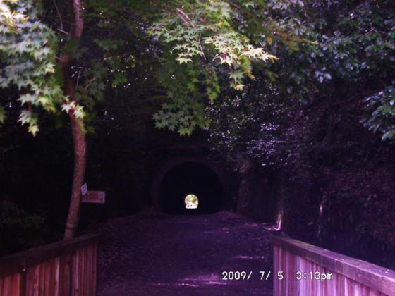 18 廃線跡トンネル