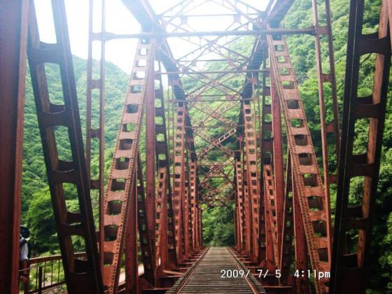 21 廃線跡鉄橋
