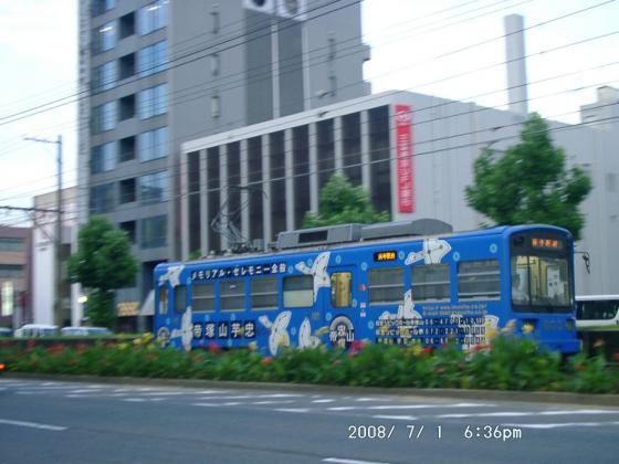 10 大道筋を行く阪堺電車