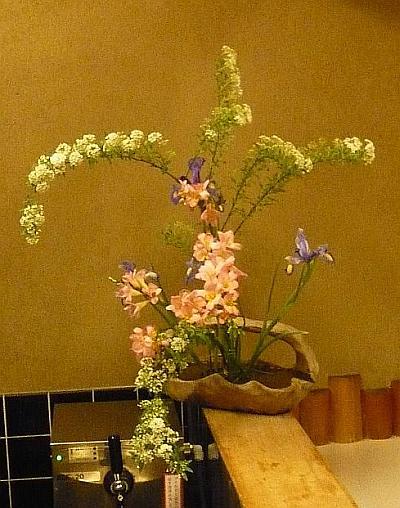 ひろ作の花