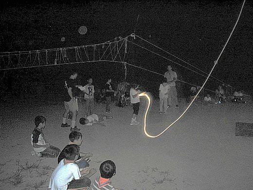 キャンプファイヤー2007