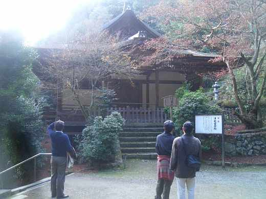 上醍醐 清滝宮拝殿