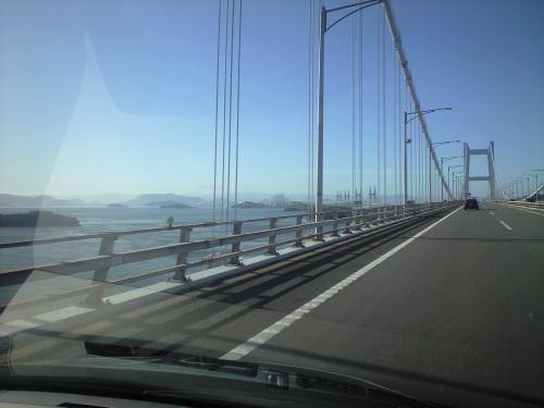 瀬戸大橋の朝