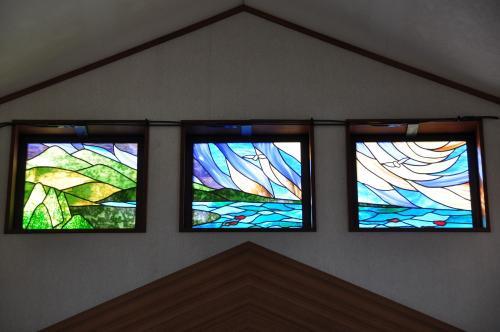 尾鷲礼拝堂のステンドグラス