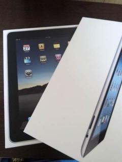 3代目iPadと初代iPadの箱