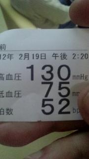 血圧、正常値!?