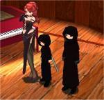 歌姫の横には招かれざる客・・・