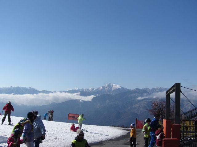 スキー場山